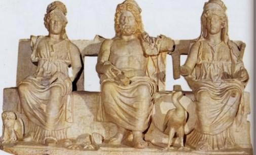 La Triade capitolina al Museo di Palestrina