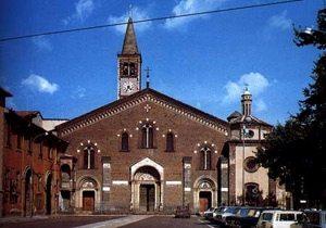 facciata della Basilica di S. Eustorgio