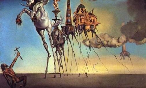 La Tentazione di Sant'Antonio (1946), di Salvador Dalì