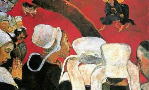 """""""Visione dopo il sermone"""" di Paul Gauguin"""