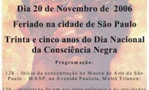 """Dia da Consciencia negra"" La Schiavitù in Brasile – 2"