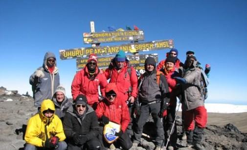 La polisportiva Namastè sul Kilimanjiaro