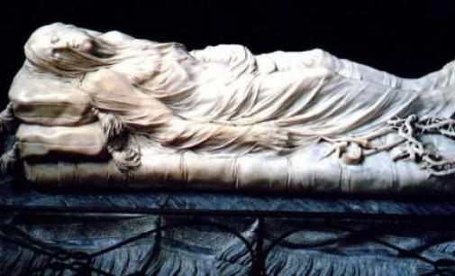 """""""Il Cristo velato"""" di Giuseppe Sanmartino"""