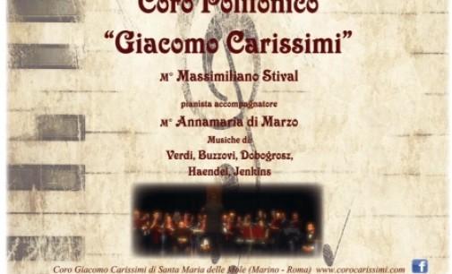 Frascati, concerto di Beneficienza Coro Polifonico Giacomo Carissimi