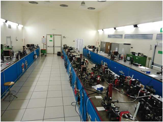 Il laser abc nei laboratori enea di Frascati