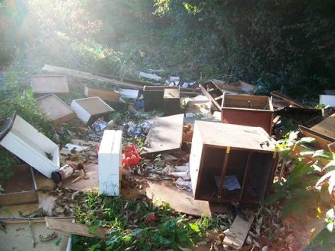 Rocca Priora: seconda segnalazione discarica abusiva via del Tasso