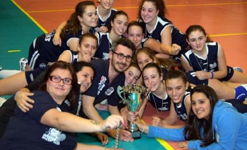 Giovolley Aprilia campione provinciale Under 13 femminile!