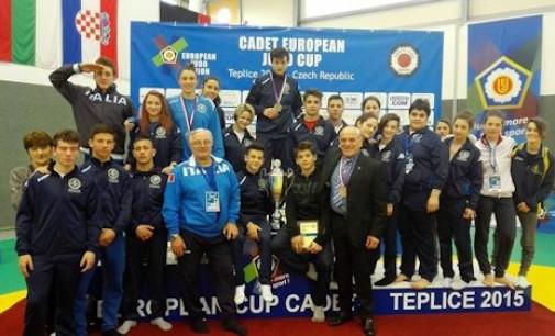 Asd Judo Frascati, Flavia Favorini settima a Teplice nella European Cup