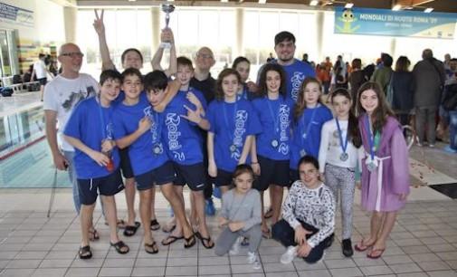 """Tc New Country Club, il settore nuoto """"pigliatutto"""" alle finali regionali Csain"""
