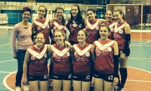Pallavolo- campionato under 14 provinciale femminile seconda fase prima gara
