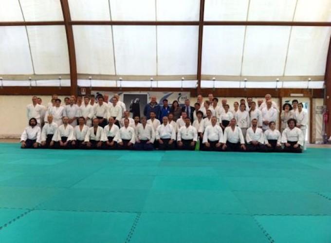 CS-Lanuvio: Stage nazionale di Aikido, grande partecipazione ed entusiasmo