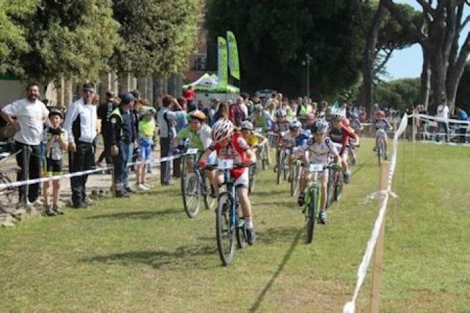 A Lanuvio la pioggia non ferma la Festa dello Sport e della mountain bike giovanile