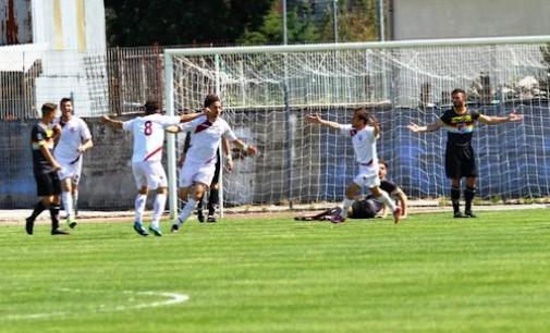 """Lega Pro, Cossentino e Mangiacasale mettono ko la Lupa Roma: l'Aversa Normanna vince 2-0 al """"Quinto Ricci"""""""