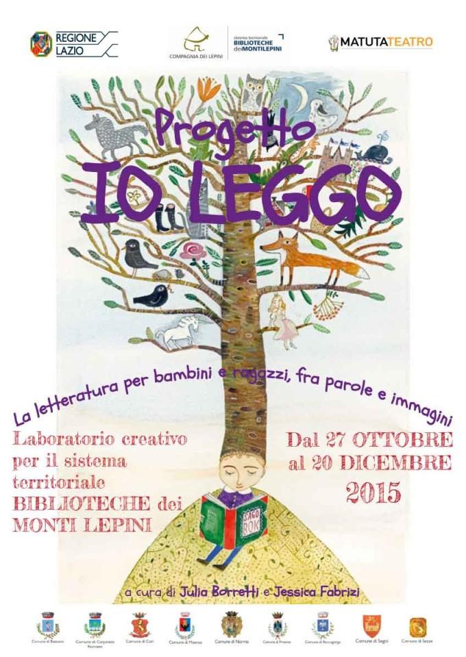 Progetto Io Leggo: la lettura per bambini e ragazzi, fra parole e immagini