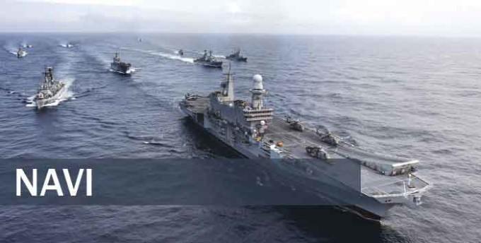 Conferenza stampa a bordo di nave Maestrale nel porto di Civitavecchia