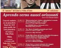 Il Suono di Liszt a Villa d'Este – IV edizione