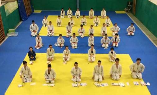 Cambi di cintura in casa Asd Judo Energon Esco Frascati