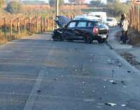 Incidente stradale in Via Capanne di Marino