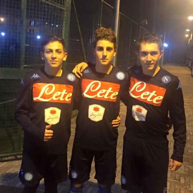 Racing Club calcio, «Che orgoglio la presenza all'Haider e i tre ragazzi al Napoli»
