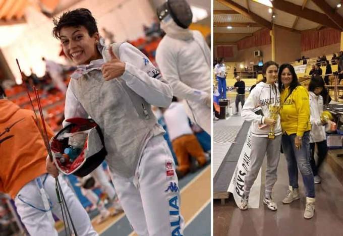 Il Frascati Scherma applaude Luisa Montalto e Serena Puglia