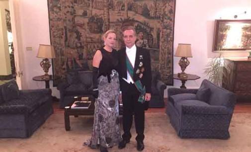L'alta moda italiana di Michele Miglionico a Buckingham Palace – Londra