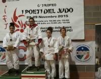 """Asd Judo Energon Esco Frascati, dominio anche nel trofeo """"I Poeti del Judo"""""""