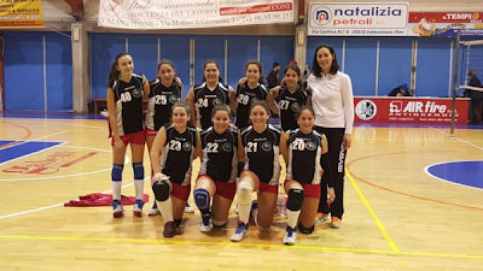 Pallavolo campionato provinciale under 14 femminile 8 giornata