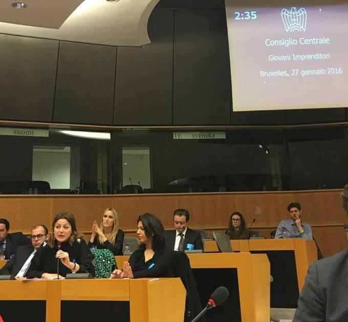 I Giovani Imprenditori a Bruxelles in difesa del prodotto italiano