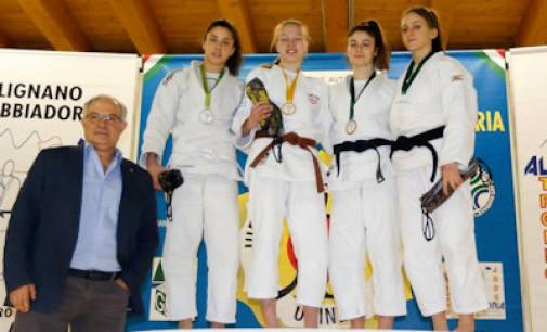 Asd Judo Energon Esco Frascati, strepitosa Favorini: seconda al trofeo internazionale Alpe Adria