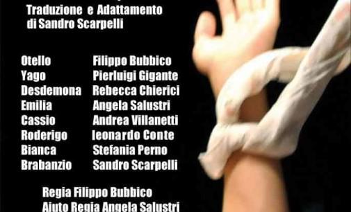 """Al Teatro Auditorium Comunale Giulanco la compagnia """"La Quercia Incantata"""" con """"Otello"""""""
