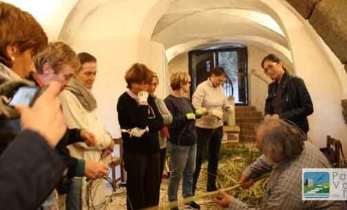 Mastro cestaio all'opera – imparare a fare i cesti Intrecciare un cesto