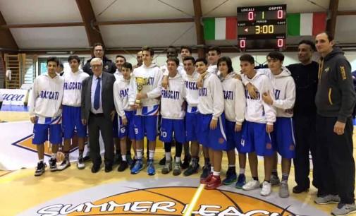 Basket Frascati (Under 16 Ecc), Giammò: «Pronti per riprendere a correre»