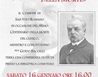 San Vito Romano – Centenario della morte di Guido Baccelli