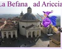 Ariccia – Arriva la Befana e scende dal campanile!