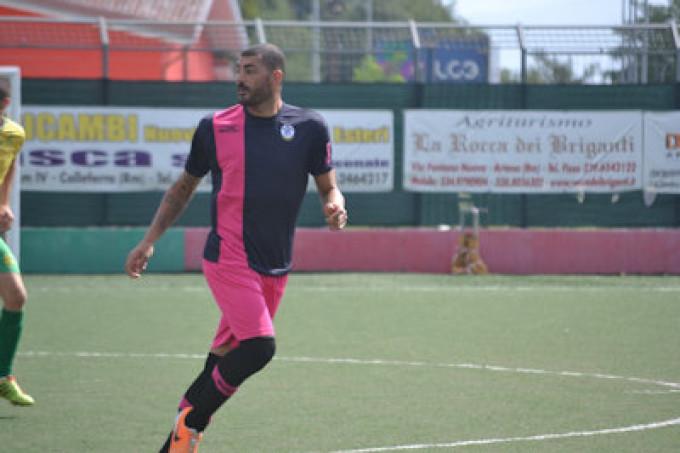 Vis Artena calcio (Eccell), M. Monaco di Monaco: «Contento se i miei gol servono alla squadra»