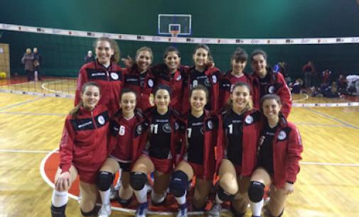 Pallavolo campionato prima divisione femminile 9 giornata