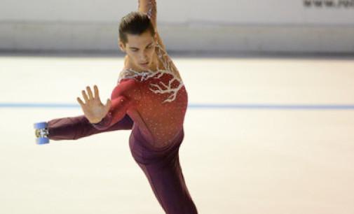 Skating Frascati, Lucaroni punta sempre più in alto: «Vorrei centrare l'accoppiata mondiale»