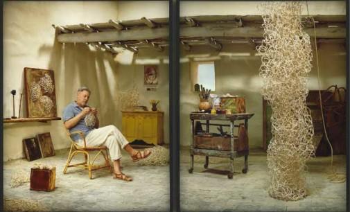 Rodney Graham.More Pipe Cleaner Art!