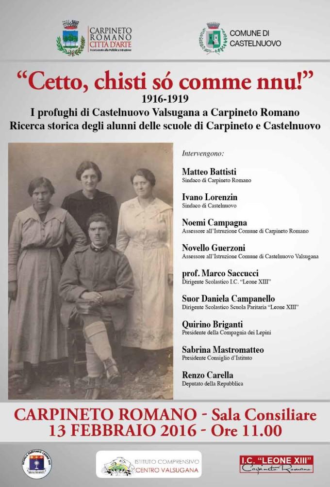 """Carpineto – """"Cetto chisti so comme nnu!"""""""