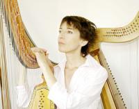 Mara Galassi (arpa a tre ordini) in Musiche per Cristina Alessandra Regina di Svezia