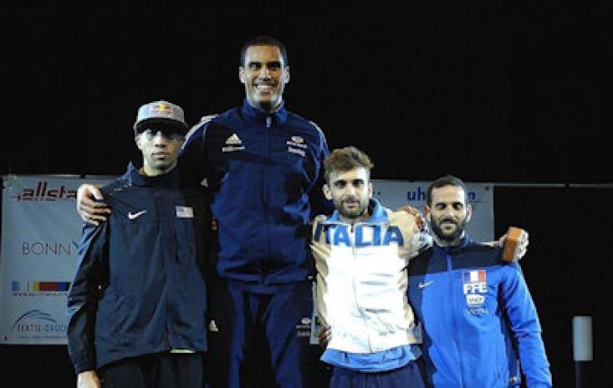Frascati Scherma: Garozzo di bronzo in CdM, Mancini e Bianchi campioni d'Italia U23