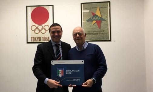 La Gioc Cocciano Frascati gonfia il petto: ecco il riconoscimento di Scuola di Calcio Elite