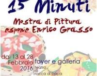 Rocca di Papa – 15 minuti …e di piu' di pura arte