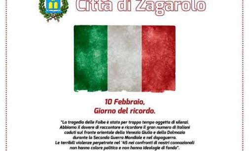 """Zagarolo – """"Giorno del Ricordo"""", il 10 Febbraio ricordiamo le vittime delle Foibe"""