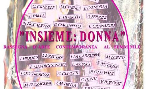 "Nemi – ""Insieme: Donna"" Rassegna di Arte Contemporanea al Femminile"