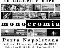 """Velletri – Mostra fotografica """"monocromia"""""""