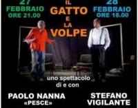 Il Gatto e la Volpe Teatro Comunale G.L. Bernini – Ariccia