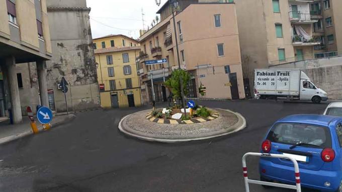 Velletri – Iniziati i lavori di realizzazione della rotatoria di Largo Adalberto Galoni
