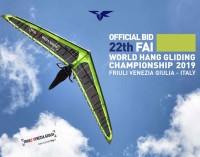 Assegnati all'Italia I 22° Mondiali di Deltaplano, in scena nel 2019 nei cieli del Fvg