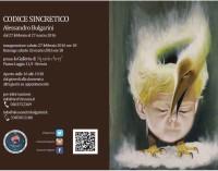Brescia – Mostra personale di Alessandro Bulgarini Codice sincretico